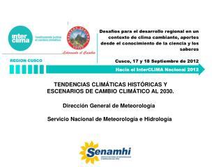 Hacia el InterCLIMA Nacional 2012