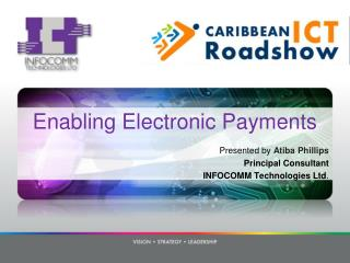Enabling Electronic Payments