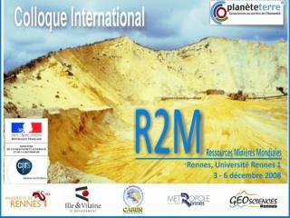 La formation des minérais de platinoïdes  et le rôle des magmas dans leur origine