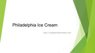 Scoop DeVille - Philadelphia Ice Cream (19106)