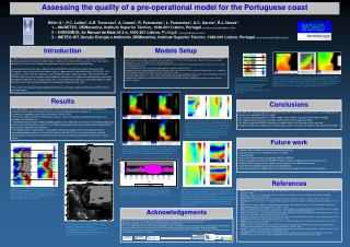 Assessing the quality of a pre-operational model for the Portuguese coast