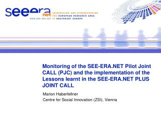 Marion Haberfellner Centre for Social Innovation (ZSI), Vienna