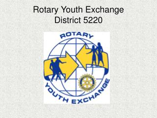 Rotary Youth Exchange District 5220