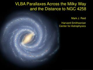 VLBA Parallaxes Across the Milky Way and the Distance to NGC 4258