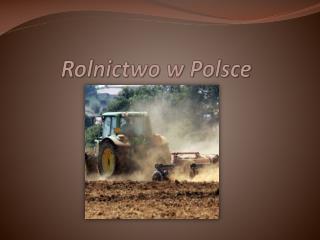 Rolnictwo w Polsce