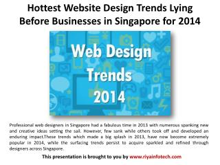 Website Design Trends Lying Before Businesses in Singapore