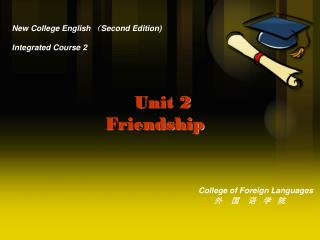 New College English  ( Second Edition) Integrated Course 2