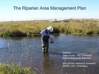The Riparian Area Management Plan