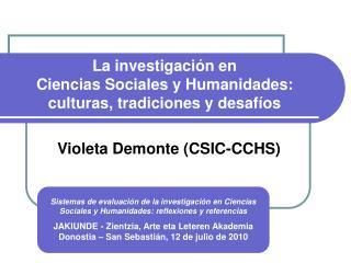 La investigaci n en  Ciencias Sociales y Humanidades:  culturas, tradiciones y desaf os