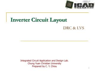 Inverter Circuit Layout DRC & LVS