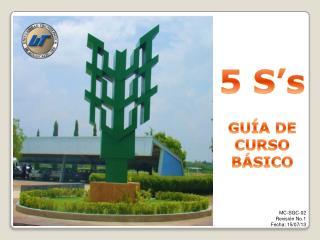 5  S's GUÍA DE CURSO  BÁSICO