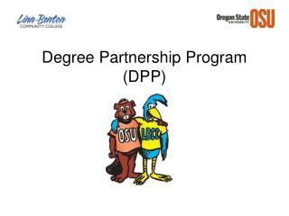 Degree Partnership Program DPP