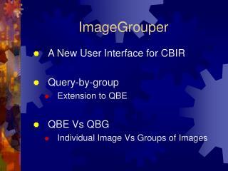 ImageGrouper