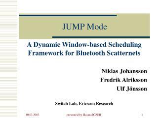 JUMP Mode