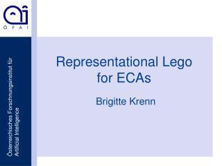 Representational Lego  for ECAs