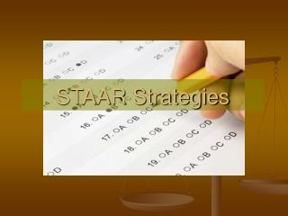 STAAR Strategies