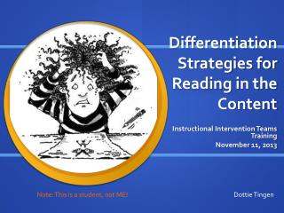 Differentiation Strategies for Reading in the Content