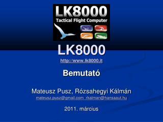 LK8000  lk8000 .it
