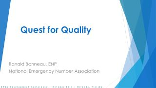 Quest for Quality