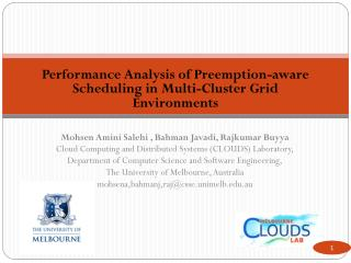 Performance Analysis of Preemption-aware Scheduling in Multi-Cluster Grid Environments