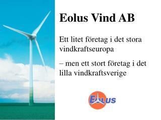 Eolus Vind AB