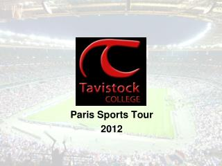 Paris Sports Tour  2012