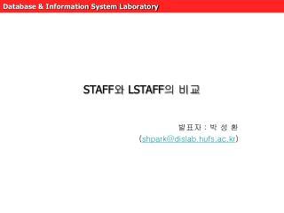 STAFF ?  LSTAFF ? ??