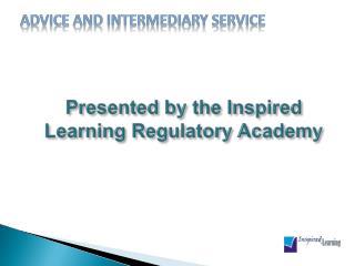 Advice and Intermediary Service