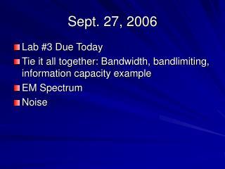 Sept. 27, 2006