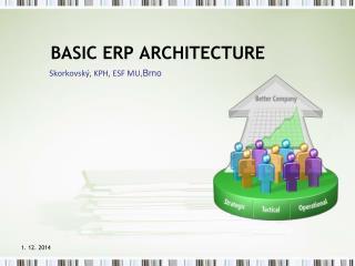 BASIC ERP ARCHITECTURE