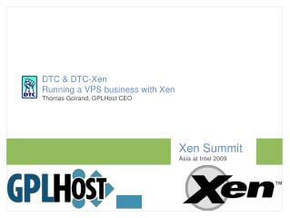 Xen Summit Asia at Intel 2009