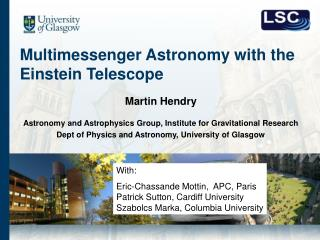 Multimessenger Astronomy with the Einstein Telescope
