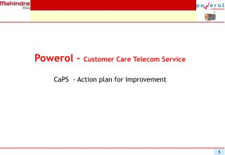 Powerol –  Customer Care Telecom Service
