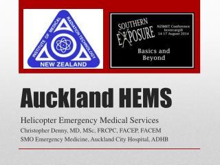 Auckland HEMS