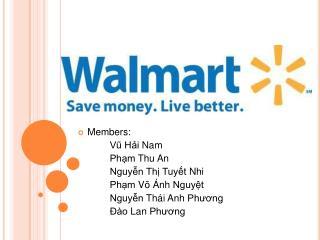 Members:  Vu Hi Nam  Phm Thu An  Nguyn Th Tuyt Nhi  Phm V   nh Nguyt  Nguyn Th i Anh Phuong    o Lan Phuong