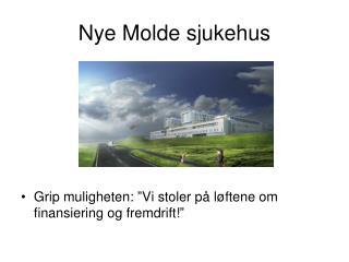 Nye Molde sjukehus