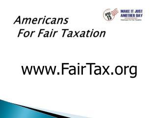 Americans  For Fair Taxation