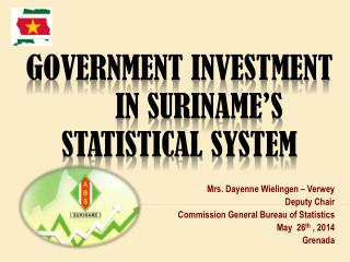 Government Investment  in Suriname's  Statistical  S ystem