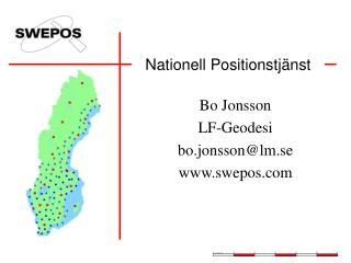 Nationell Positionstj�nst
