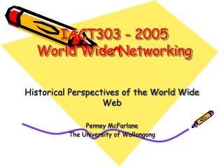 IACT303 - 2005 World Wide Networking