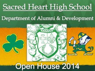 Sacred Heart High School Department of Alumni & Development