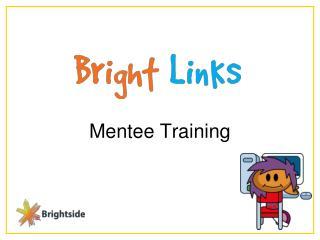 Mentee Training