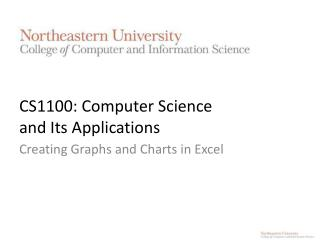 CS1100: Computer Science  and Its Applications