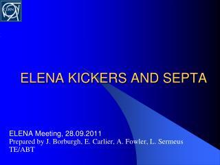 ELENA KICKERS AND SEPTA