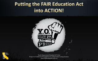 Putting the FAIR Education Act  into ACTION!