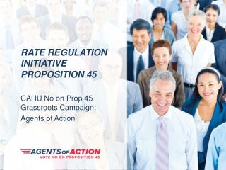 Rate Regulation Initiative Proposition 45