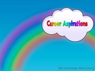3.  Expertise: People who seek positions that offer technical/professional�