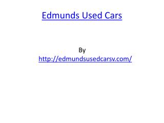 Edmunds Used Cars