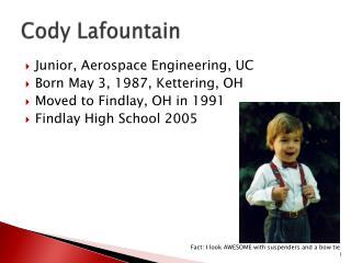 Cody Lafountain