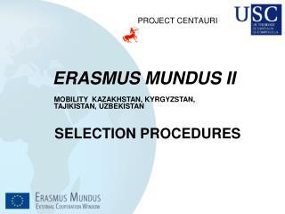 ERASMUS MUNDUS II